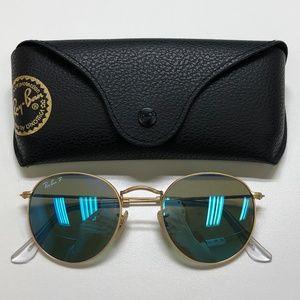 🕶️Ray-Ban Round RB3447 Sunglasses/719/TIZ109🕶️